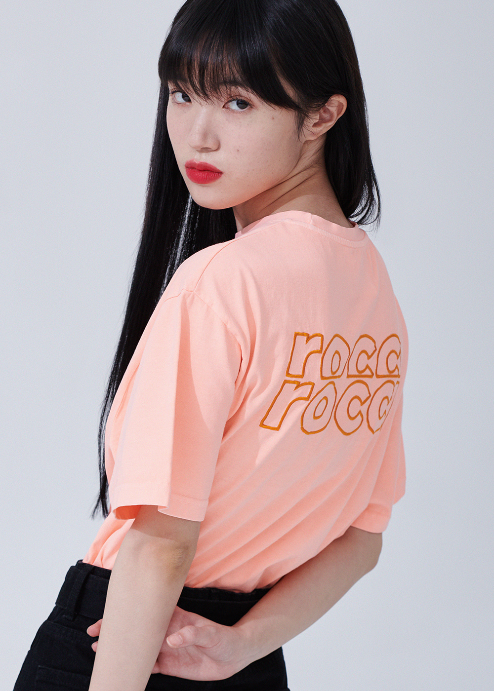 Essential Rose Pigment T-shirts [ORANGE]Essential Rose Pigment T-shirts [ORANGE]자체브랜드