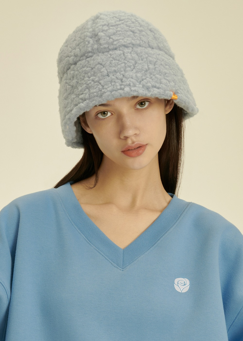 Fleece Bucket Hat [SKY BLUE]Fleece Bucket Hat [SKY BLUE]자체브랜드