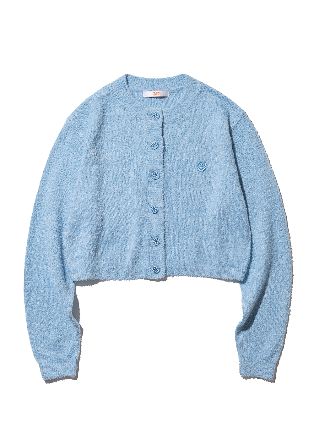 Loop Knit Cardigan [BABY BLUE]Loop Knit Cardigan [BABY BLUE]자체브랜드