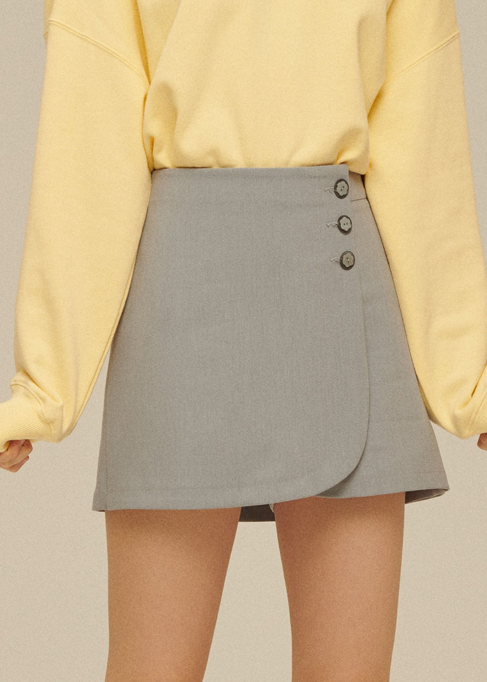 Rose Skirt Pants [STONE GREY]Rose Skirt Pants [STONE GREY]자체브랜드