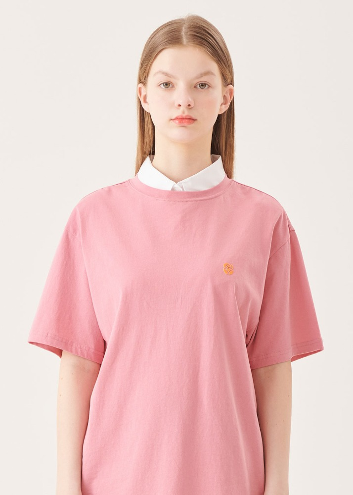 Rose High frequency T-shirts [PINK]Rose High frequency T-shirts [PINK]자체브랜드