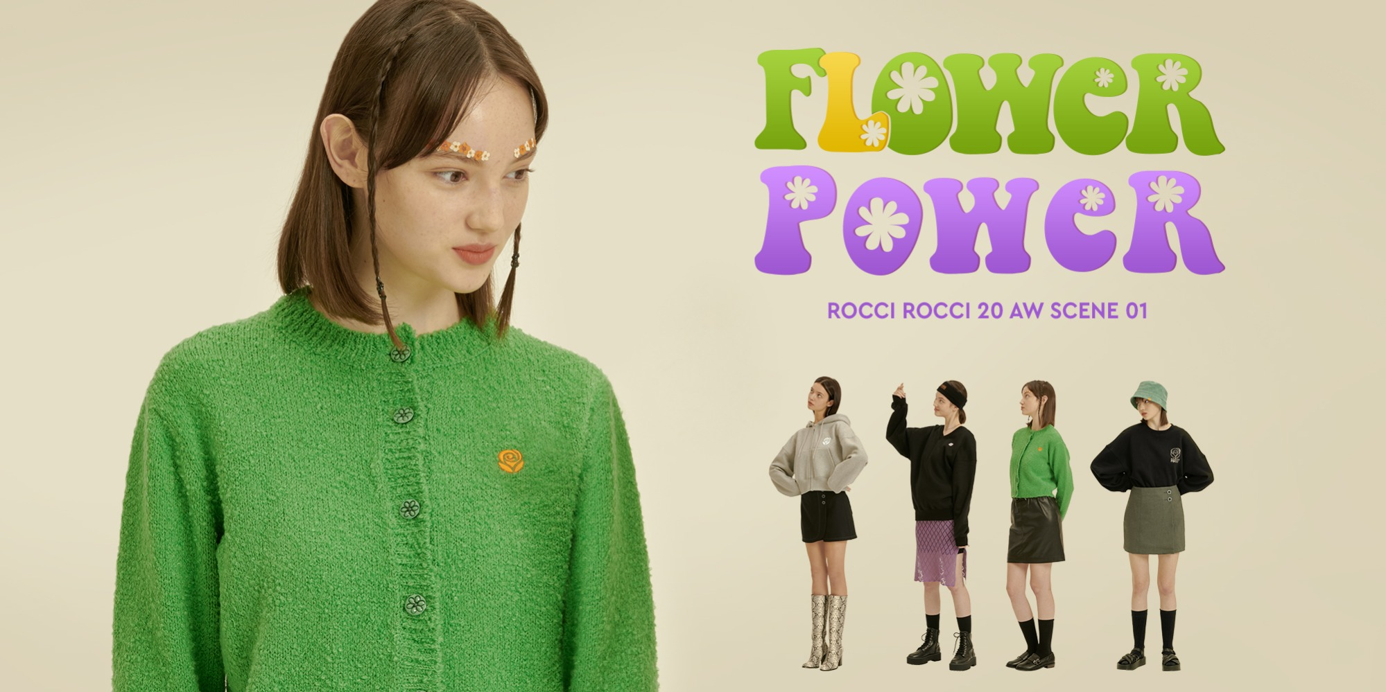 20 AW COLLECTION. FLOWER POWER #SCENE 0120 AW COLLECTION. FLOWER POWER #SCENE 01자체브랜드