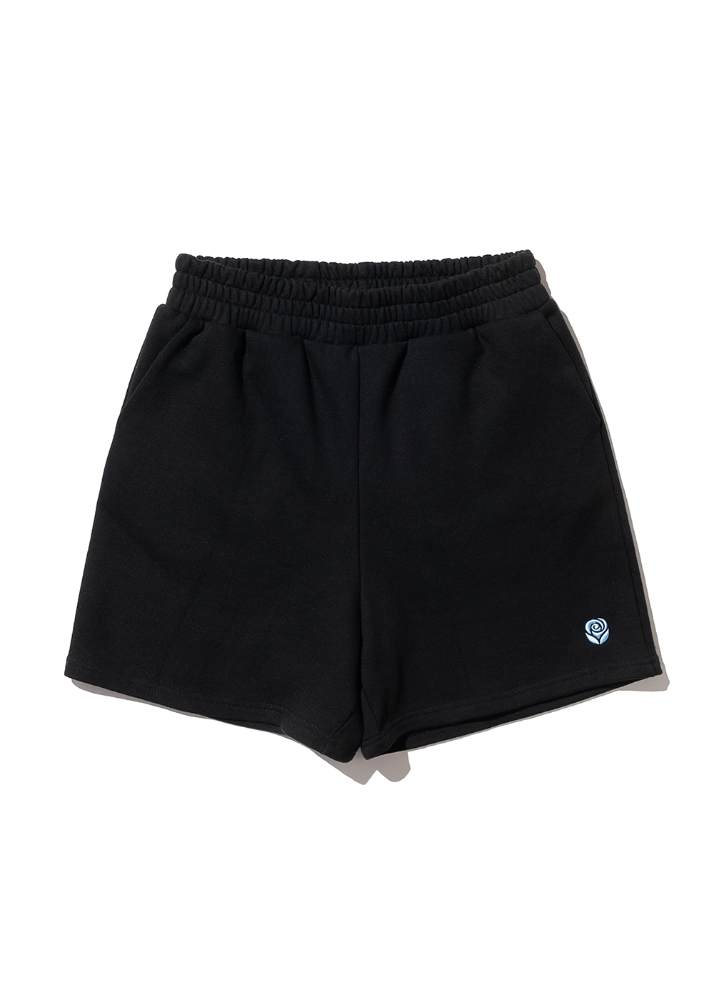 Rose Sweat shorts [BLACK]Rose Sweat shorts [BLACK]자체브랜드