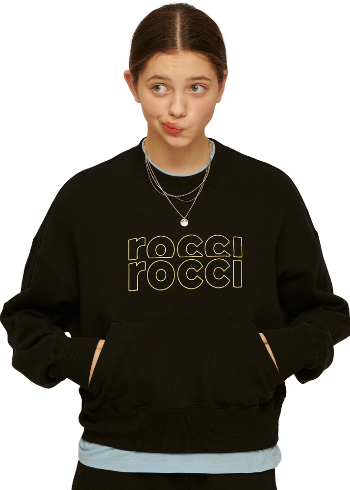 RCRC Double-Rib Pocket Sweatshirt [BLACK]RCRC Double-Rib Pocket Sweatshirt [BLACK]자체브랜드