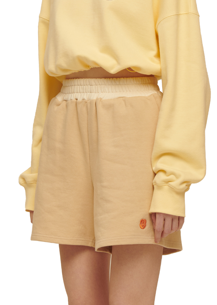 Rose Sweat shorts [BEIGE]Rose Sweat shorts [BEIGE]자체브랜드