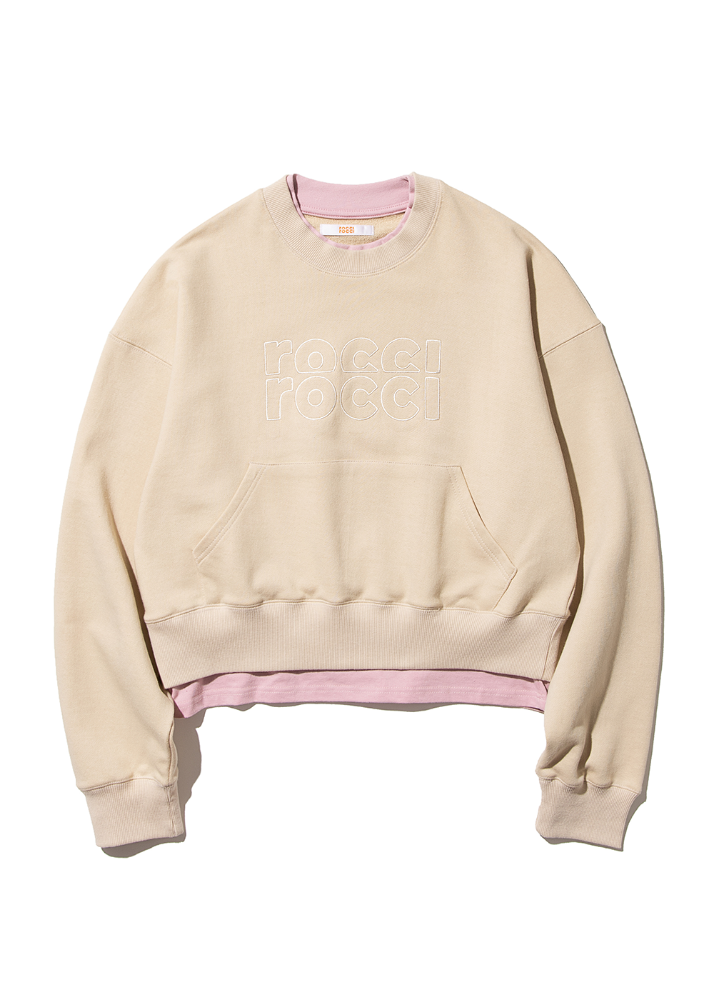 RCRC Double-Rib Pocket Sweatshirt [BEIGE]RCRC Double-Rib Pocket Sweatshirt [BEIGE]자체브랜드