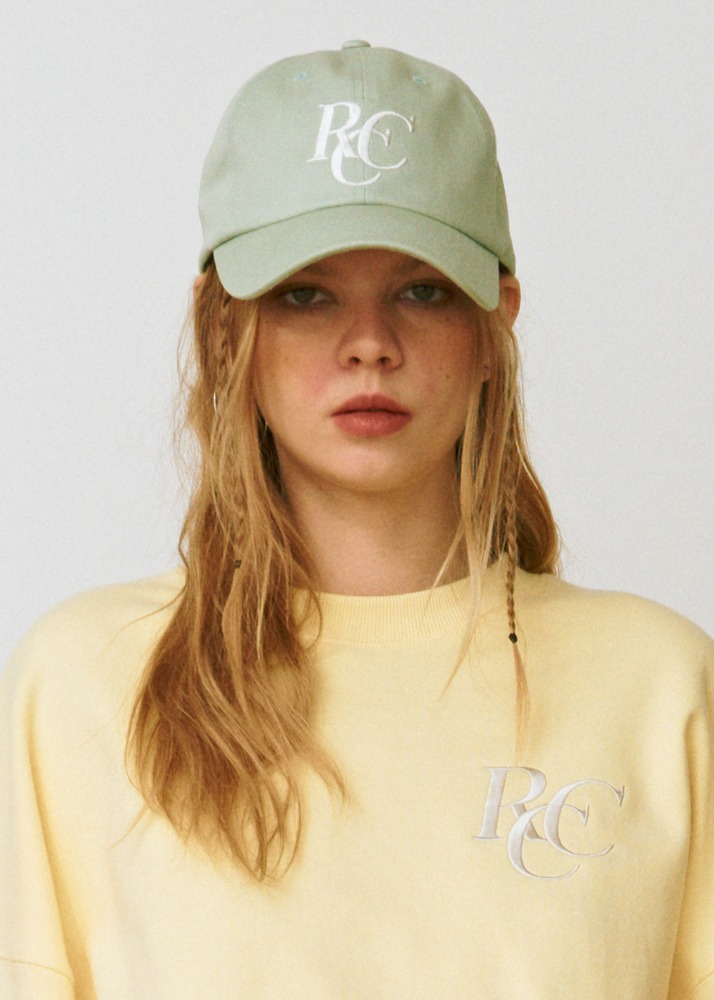 RCC Logo ball cap[MINT]RCC Logo ball cap[MINT]자체브랜드