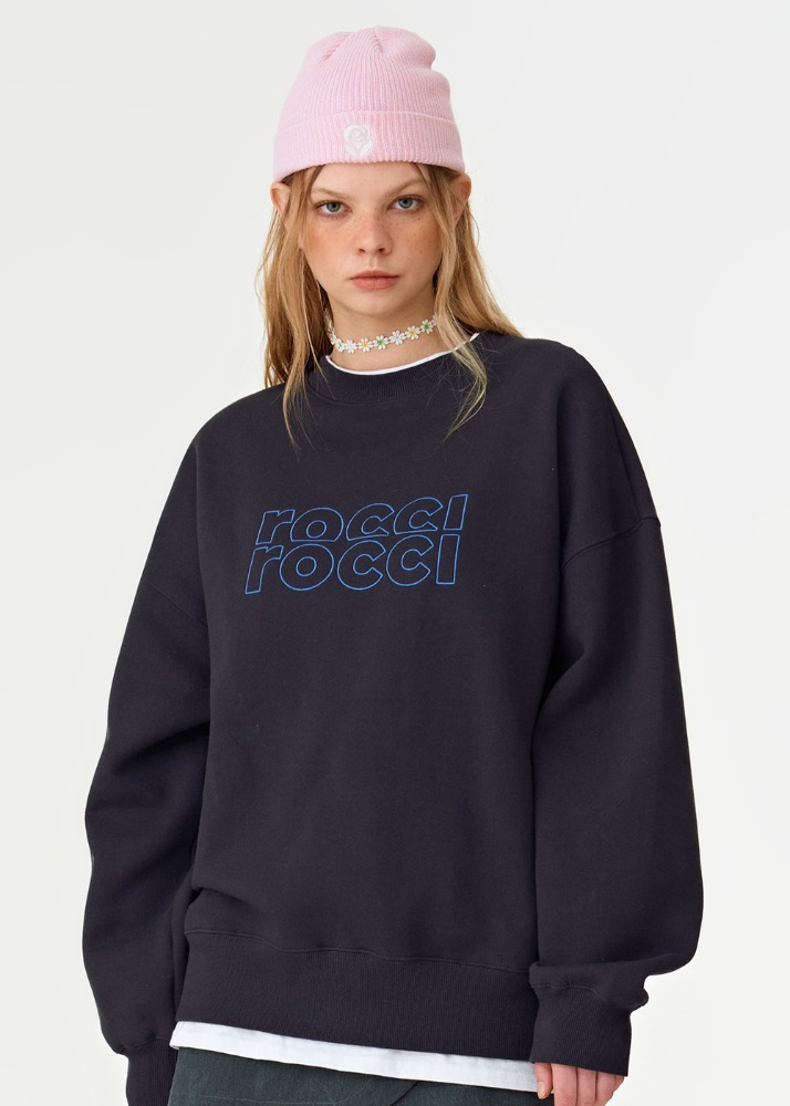 RCRC Double-Rib Sweatshirt [CHARCOAL]RCRC Double-Rib Sweatshirt [CHARCOAL]자체브랜드