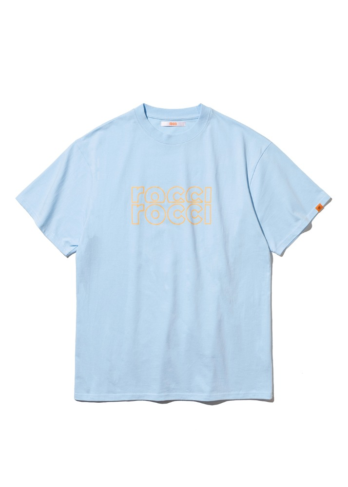 [4/30예약배송] RCRC Outline T-shirt [SKY BLUE][4/30예약배송] RCRC Outline T-shirt [SKY BLUE]자체브랜드