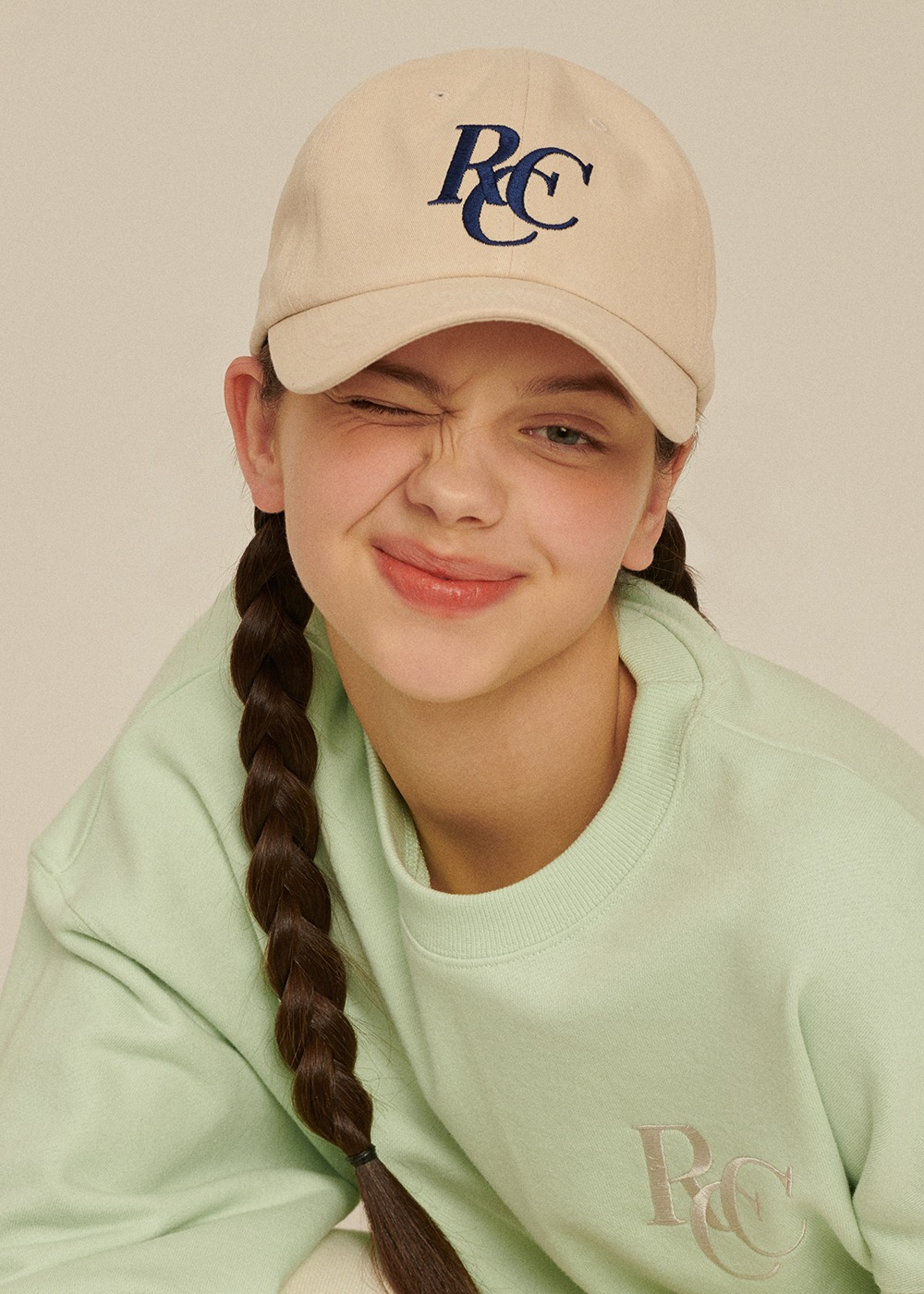 RCC Logo ball cap [CREAM BEIGE]RCC Logo ball cap [CREAM BEIGE]자체브랜드