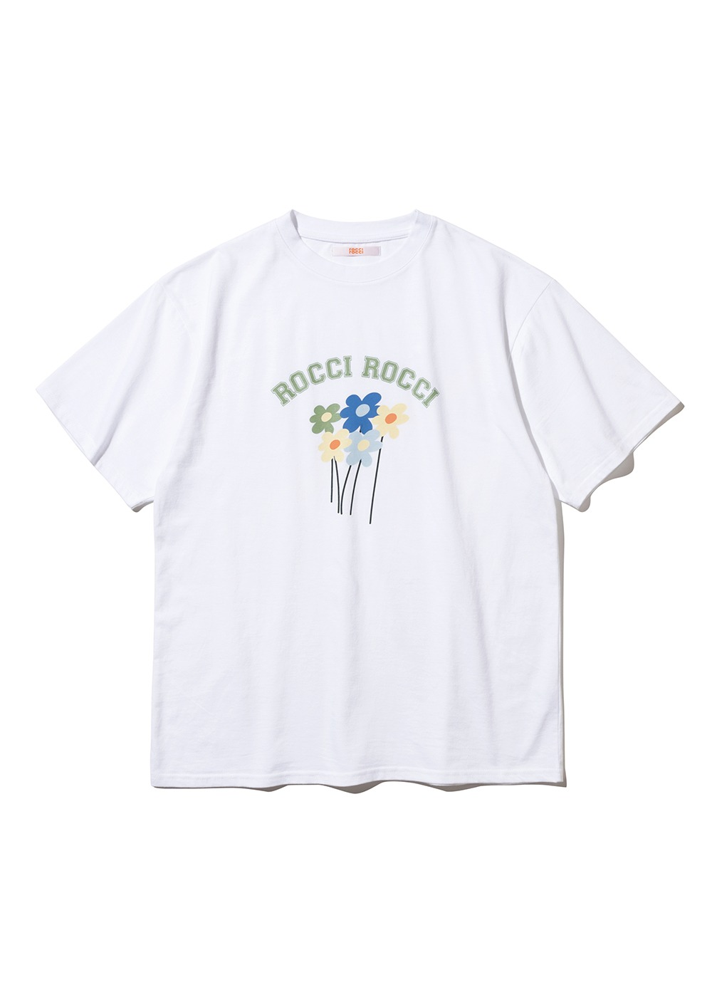 Arch Logo Flower T-shirt [WHITE]Arch Logo Flower T-shirt [WHITE]자체브랜드