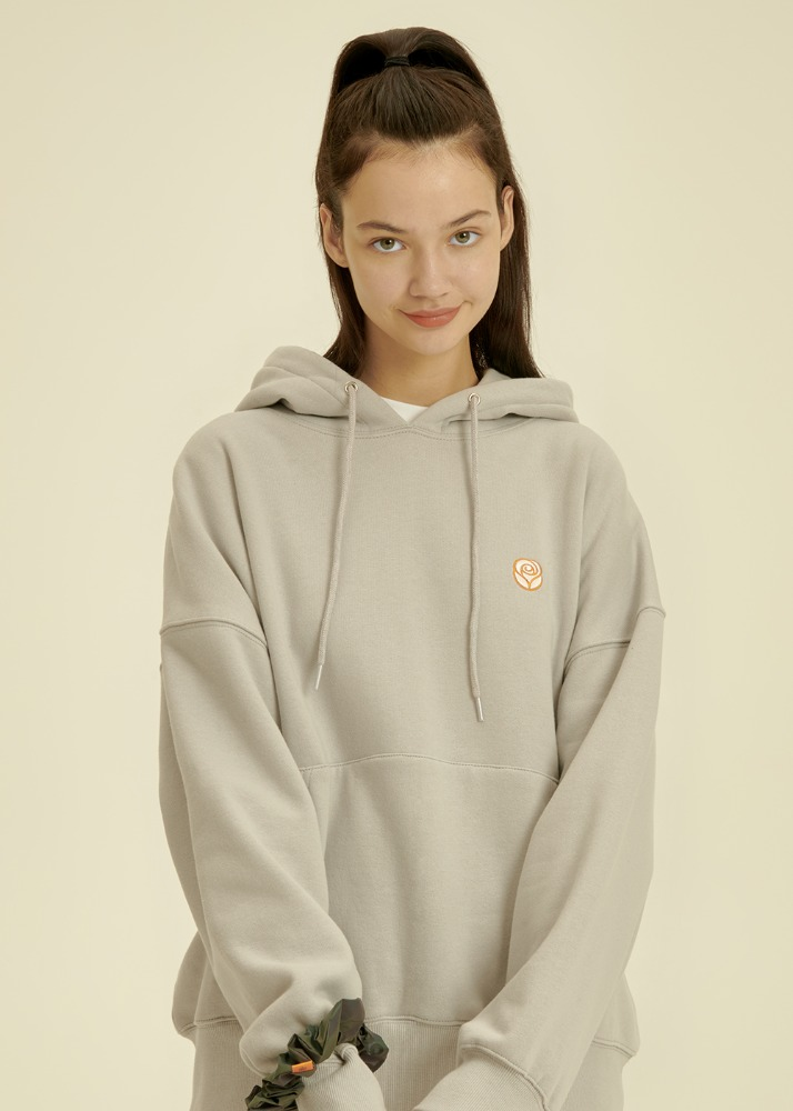 Rose Hoodie [LIGHT GREY]Rose Hoodie [LIGHT GREY]자체브랜드