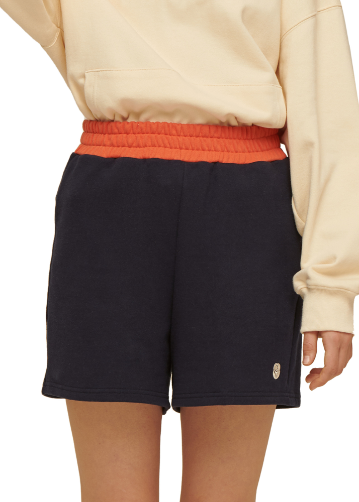 Rose Sweat shorts [NAVY]Rose Sweat shorts [NAVY]자체브랜드
