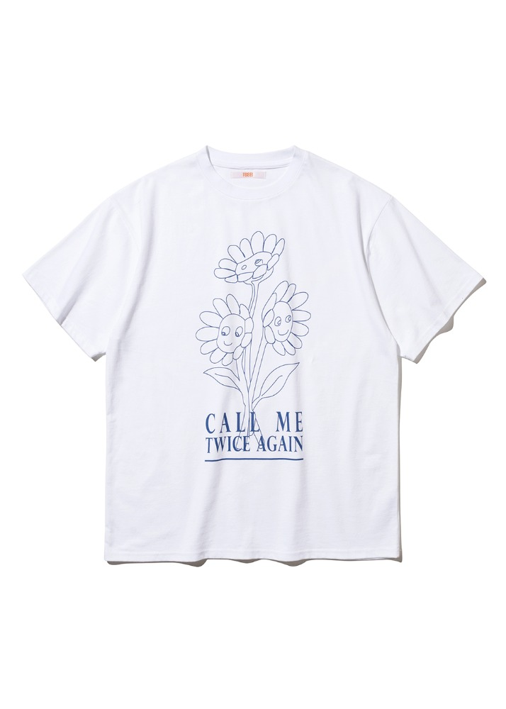 Flower Vase T-shirt [WHITE]Flower Vase T-shirt [WHITE]자체브랜드