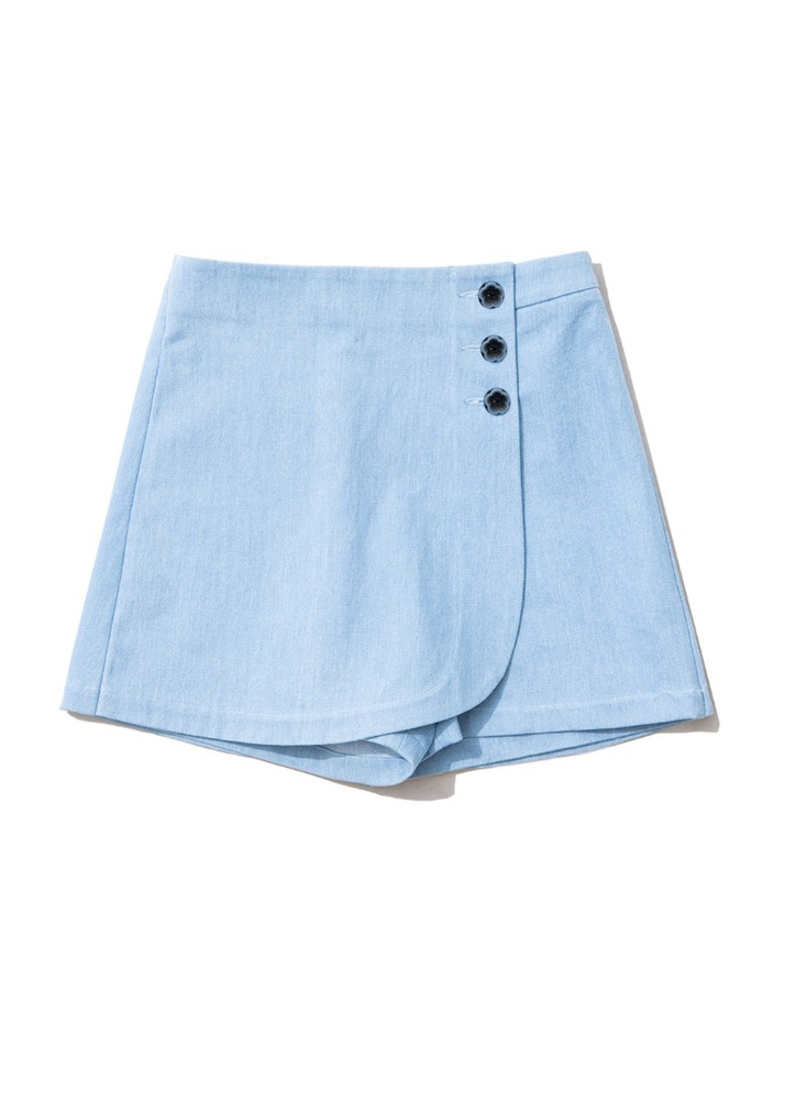 Rose Denim Skirt pants [LIGHT BLUE]Rose Denim Skirt pants [LIGHT BLUE]로씨로씨